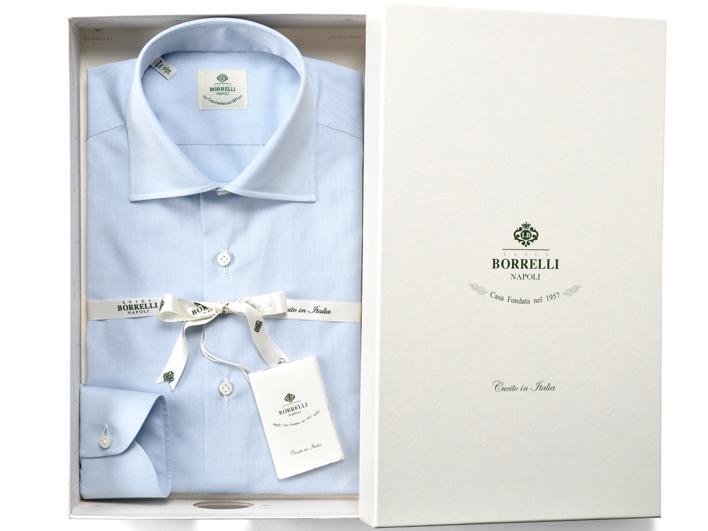 ルイジボレッリ(LUIGI BORRELLI)のおすすめワイシャツ